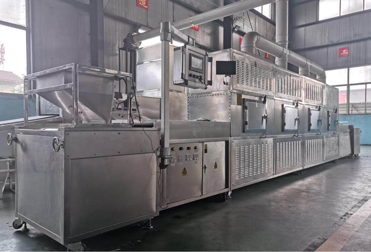 Automatic fast food box lunch heating sterilizer equipment